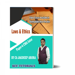 Best CMA Inter Laws & Ethics Video lectures in India