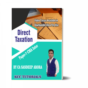 Best CMA Inter Direct Taxation Video Lectures in India
