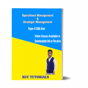 Best CMA Inter Operations Management & Strategic Management Video Lectures in India