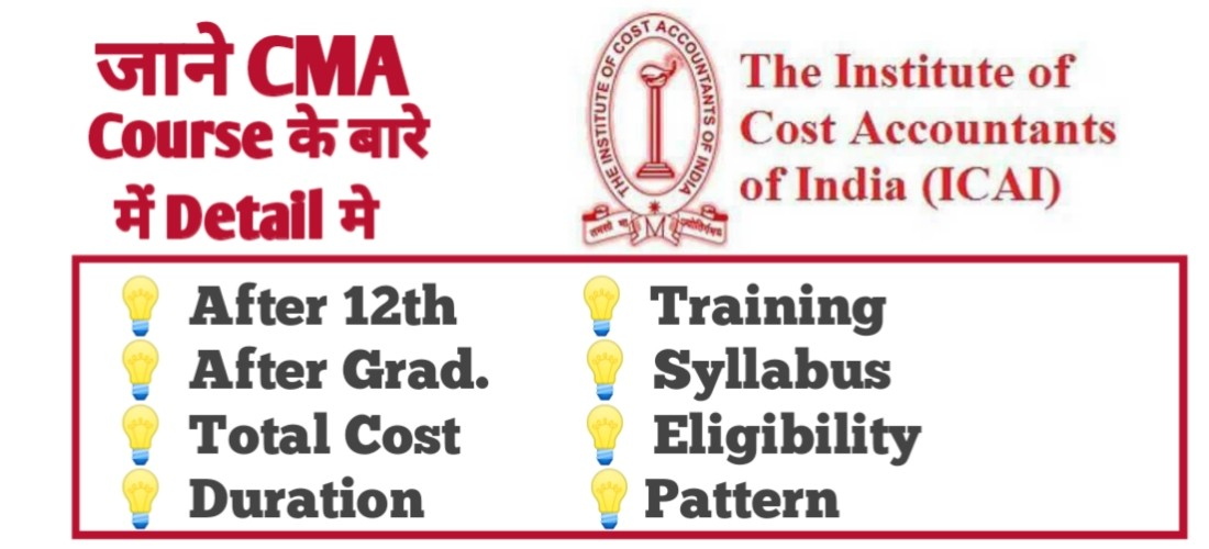 Complete Details about CMA Course 2021-2022