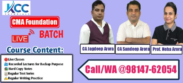 Best CMA Foundation Live Online Classes in India