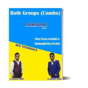 Best CS Executive Both Modules Video lectures in India