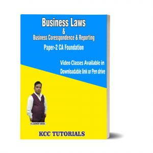 Best CA Foundation Business Laws & Business Correspondence & Reporting Video Lectures in India