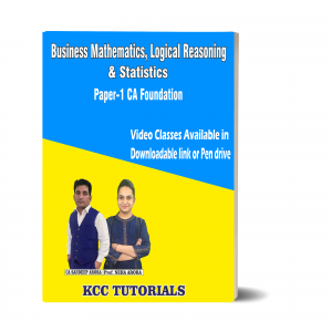 Best CA Foundation Business Mathematics, Logical Reasoning & Statistics Video Lectures in India