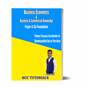best ca foundation business economics & business & commercial knowledge video lectures in india